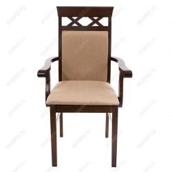 Стул-кресло с подлокотниками: мягкий, для гостиной, фото, видео