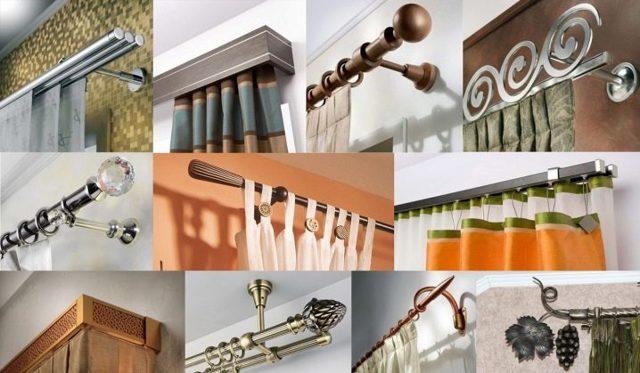 Карнизы для штор: описание, какие бывают, варианты исполнения, советы по выбору