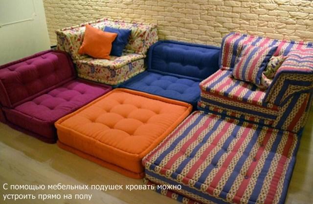 Мягкая мебель своими руками: основные принципы изготовления