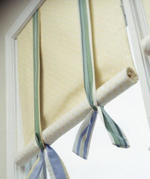 Как сделать римскую штору своими руками: пошаговое изготовление