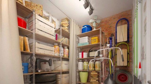 Как сделать стеллажи и полки для кладовки своими руками